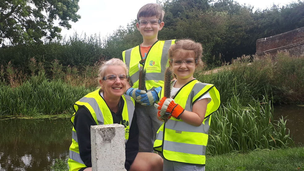 10 eco-volunteering holidays in the UK and Europe; children waterways
