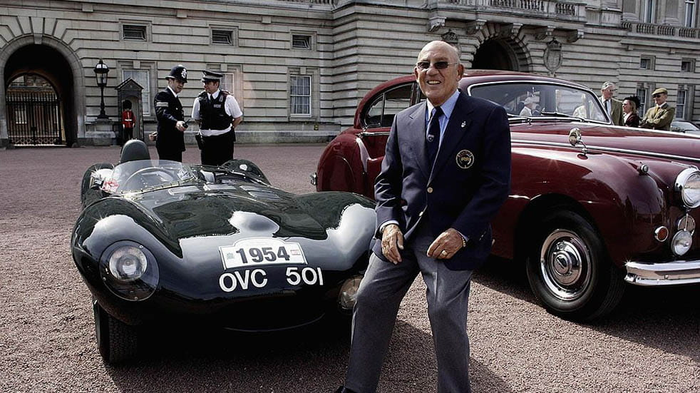 Stirling Moss; Buckingham Palace