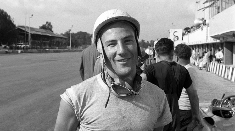 10 amazing facts about Stirling Moss; young man
