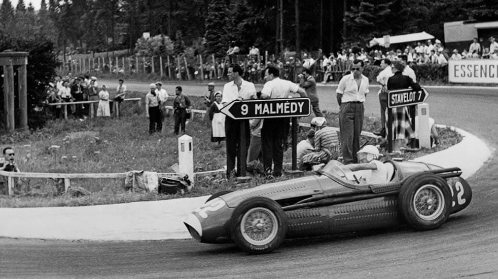 10 amazing facts about Stirling Moss; driving round bend