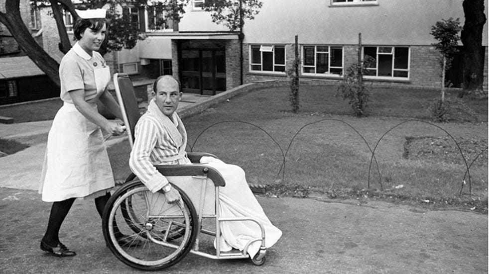10 amazing facts about Stirling Moss; hospital