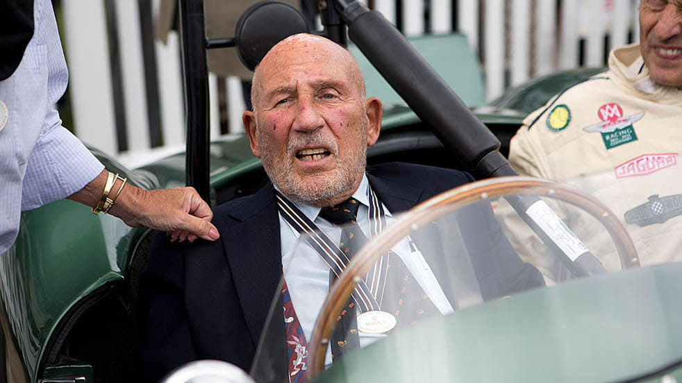 10 amazing facts about Stirling Moss; retirement