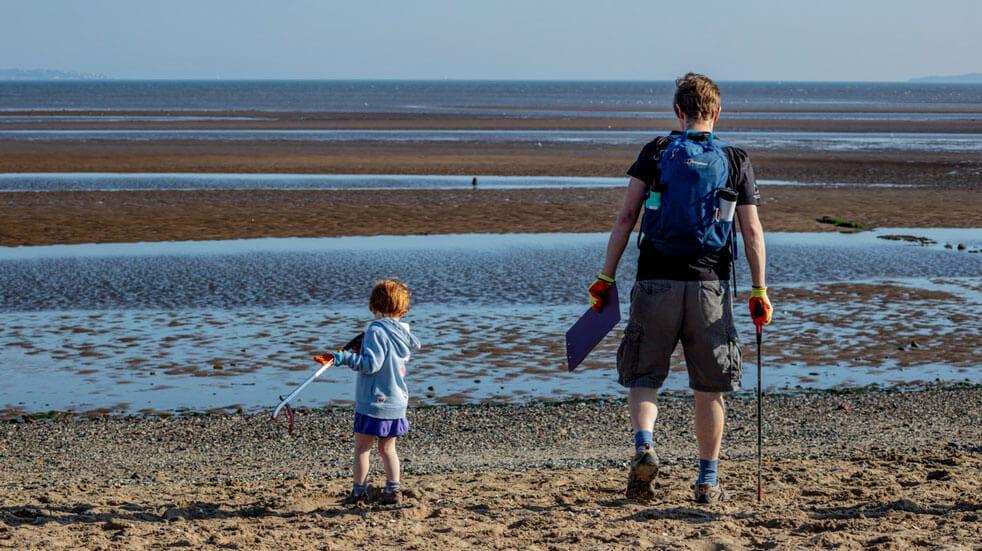 10 eco-volunteering holidays in the UK and Europe; beach clean