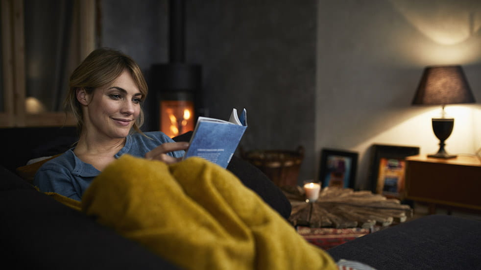 10 easy ways to boost your mood this autumn woman reading book
