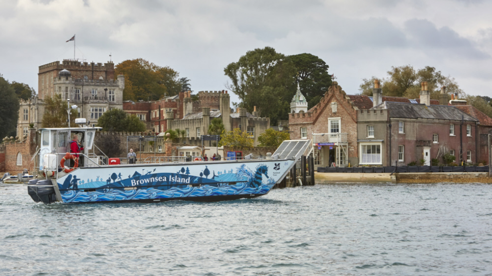 The National Trust's stunning Brownsea Island