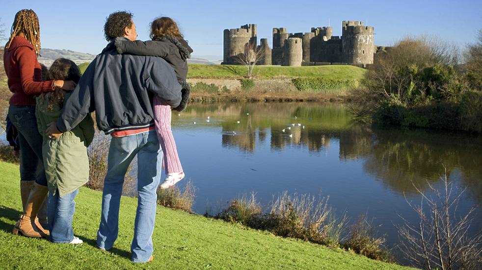 10 best family days out Cardiff Caerphilly Castle