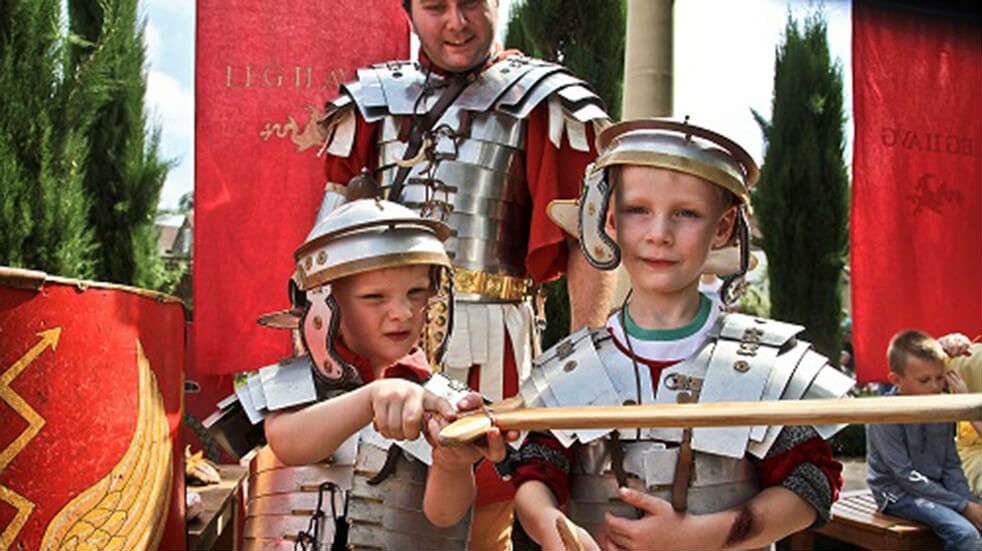10 best family days out Cardiff National Roman Legion Museum