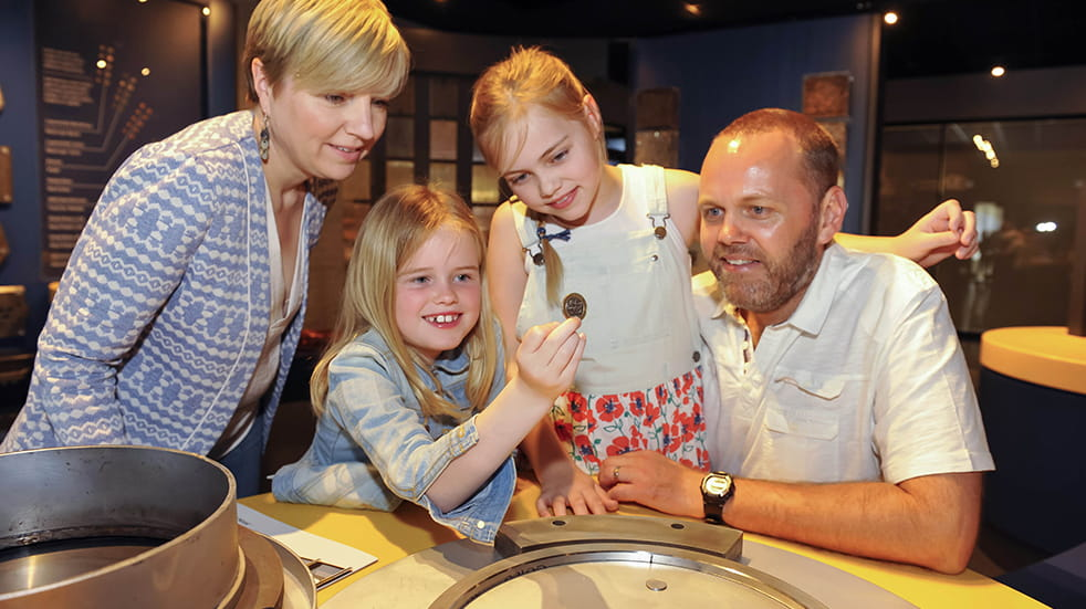 10 best family days out Cardiff The Royal Mint Experience