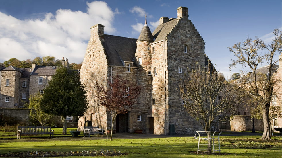 Mary Queen of Scots Visitor Centre in Edinburgh