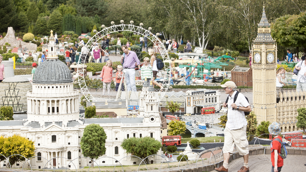 Things to do near London with kids Legoland Miniland London