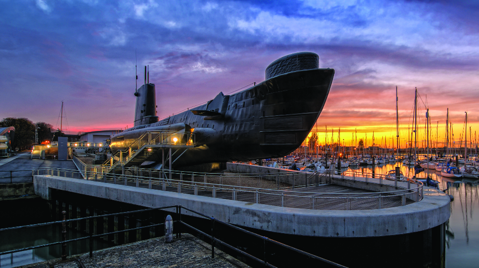 Royal Navy Submarine Museum in Portsmouth
