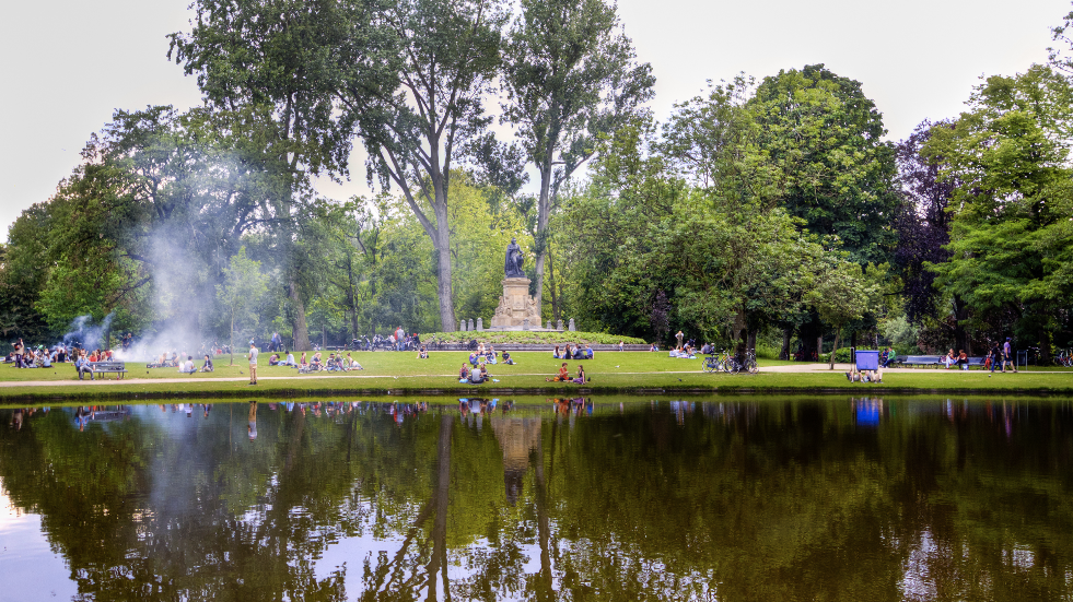 Best parks in Amsterdam