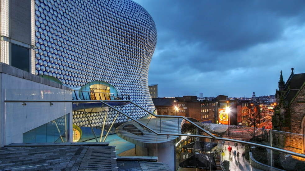 things to do in Birmingham shopping at Bullring