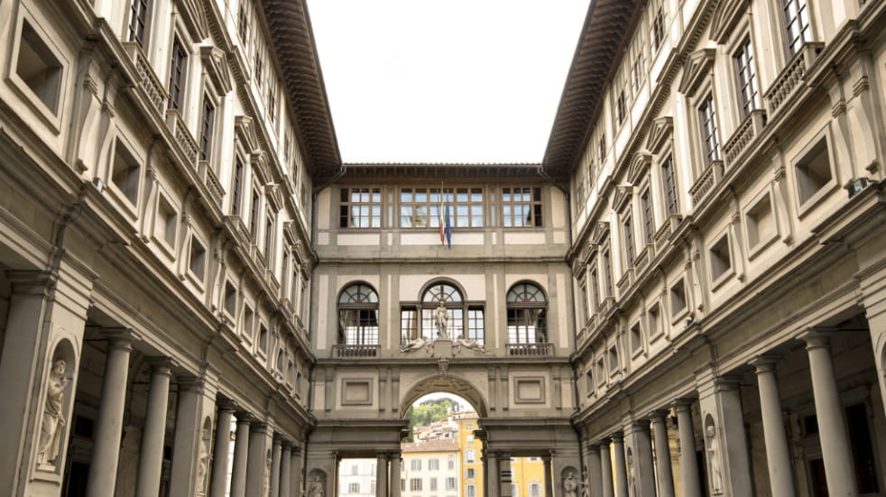 Uffizi gallery top things to do in Florence Italy