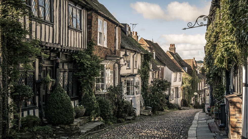 Mermaid street Rye sussex
