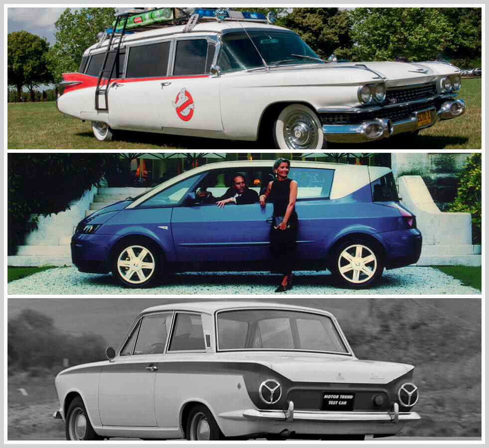 The 100 best classic cars: Ghostbusters Echo 1, Renault Avantime, Ford Lotus Cortina