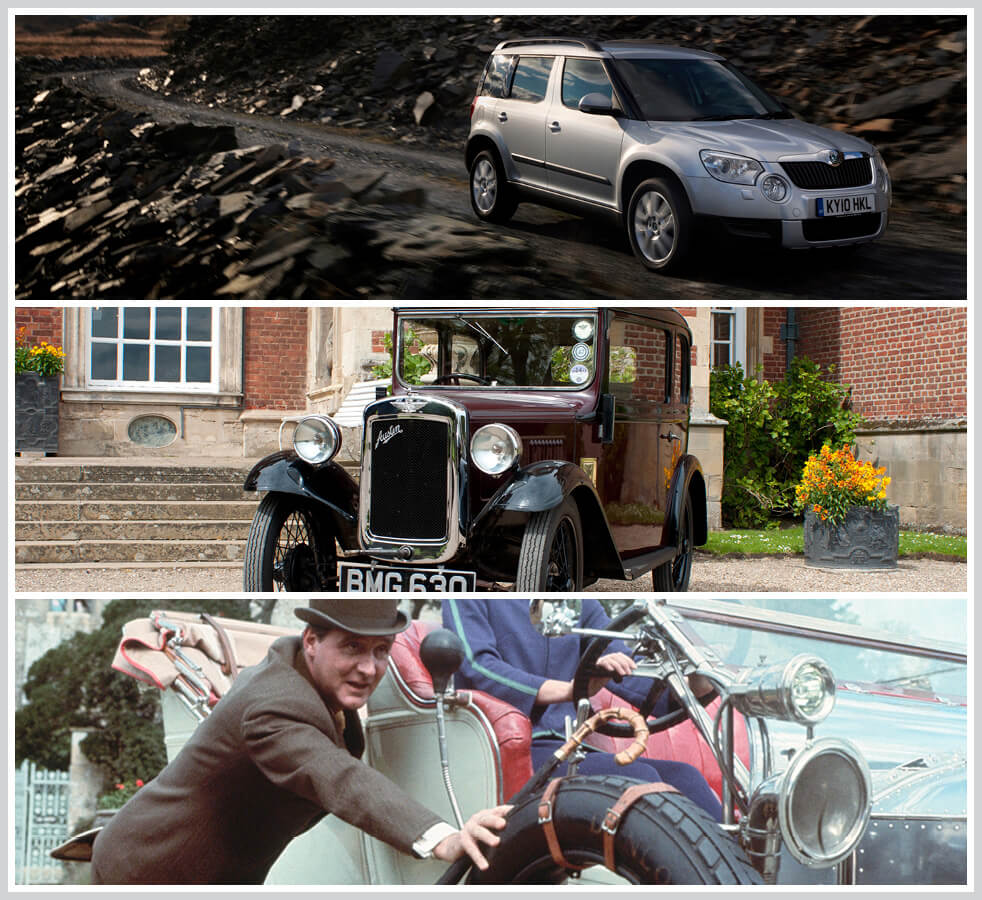 The 100 best classic cars: Skoda Yeti, Austin Seven, Steed's Bentley