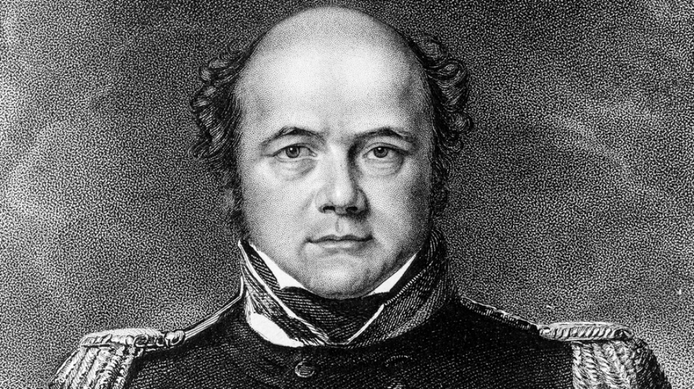 Sir John Franklin led an ill-fated naval expedition