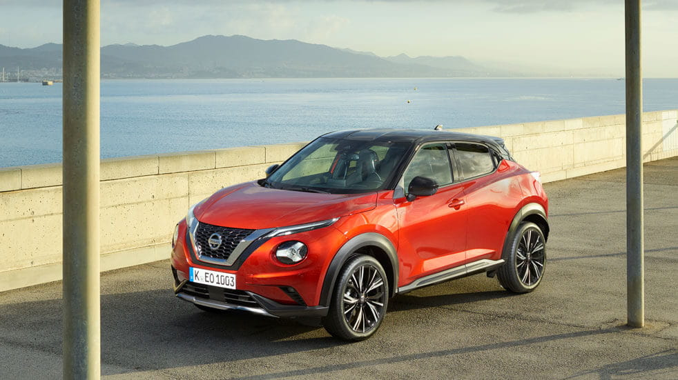 The Nissan Juke Tekna+ is built in Britain