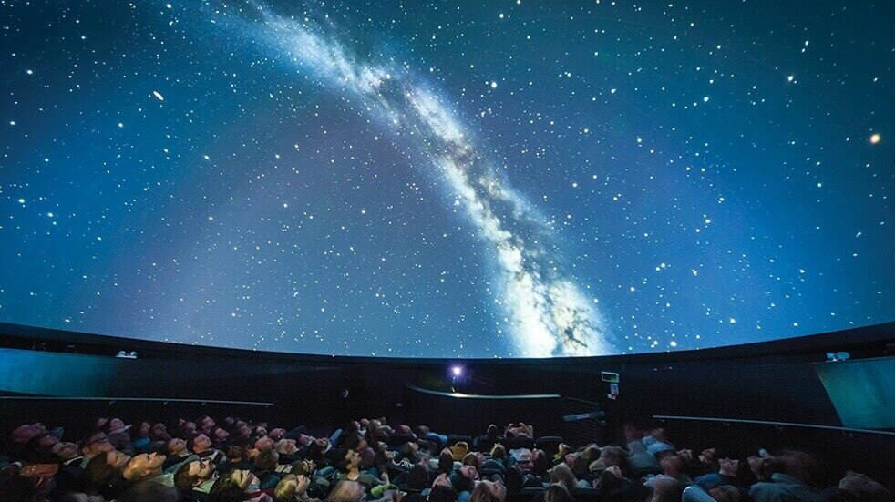 25 days out under £20: We The Curious Planetarium show