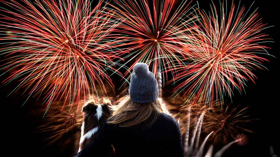 25 free events November fireworks in sky