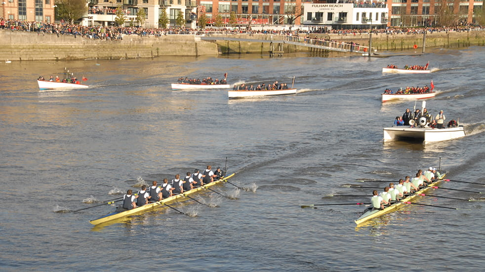 25 free things to do this month: Oxford and Cambridge university boat race