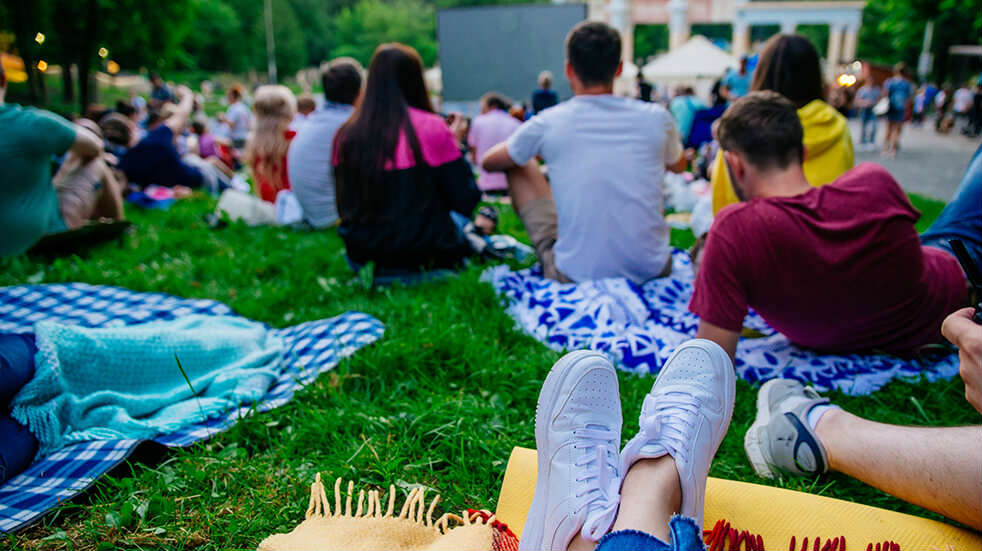 25 free things to do in August: watch a film at an outdoor cinema