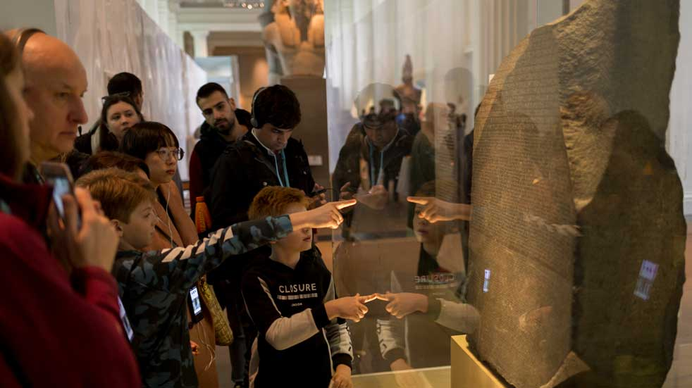 25 free things to do August British museum