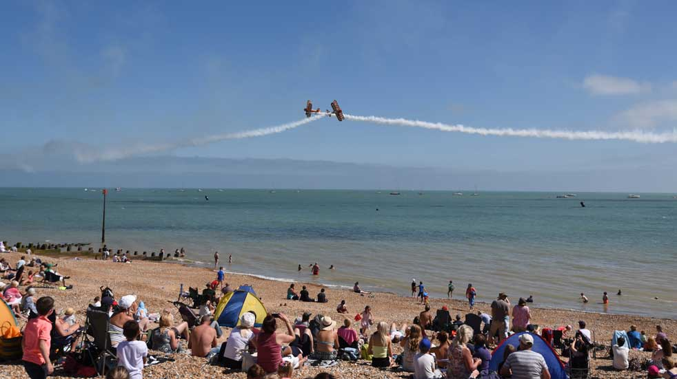 25 free things to do August Eastbourne airshow