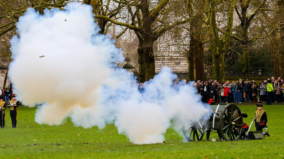 25 free things to do in June: gun salute in Colchester for the Queen's birthday