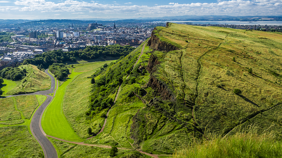 25 free things to do in May: Arthur's Seat in Edinburgh