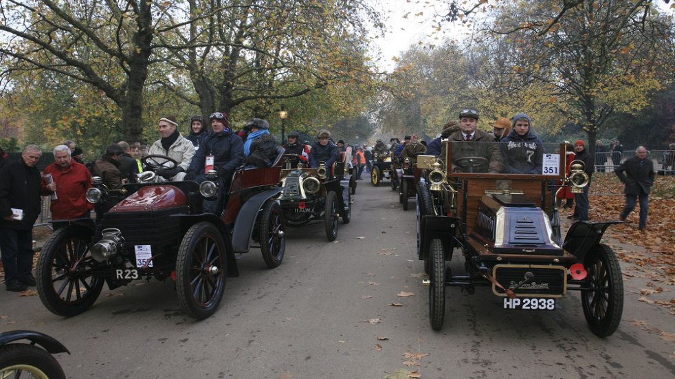 Free things to do: the London to Brighton classic car run