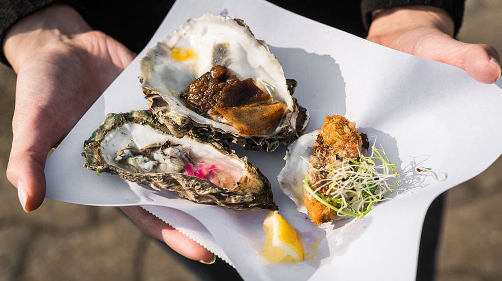 25 free things to do in October - GettyImages- Falmouth Oysters