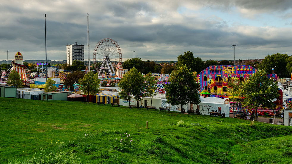 25 free things to do in October - GettyImages-Funfair Nottingham Goose Fair