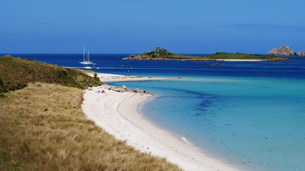 Winter sun holidays Scilly Isles Tresco Island