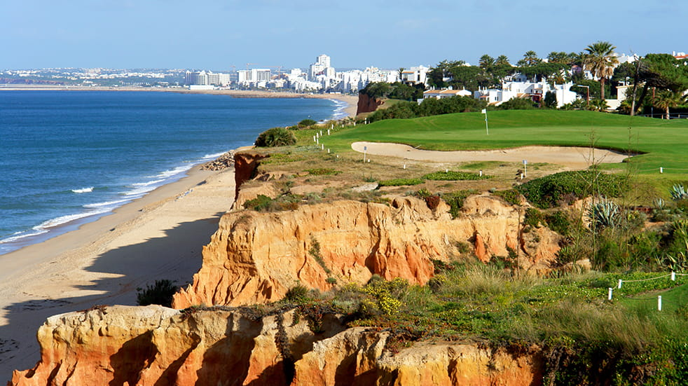 Winter sun holidays Algarve golf