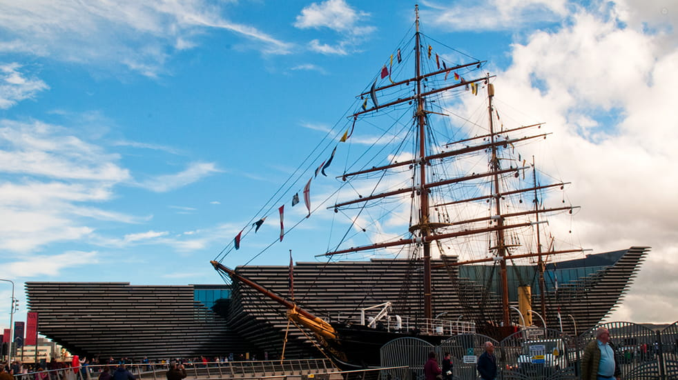 48 hours in Dundee: Kingdom of Fife group, RRS Discovery