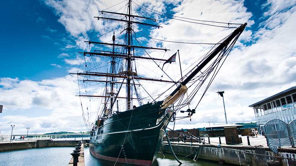 48 hours in Dundee: RRS Discovery ship