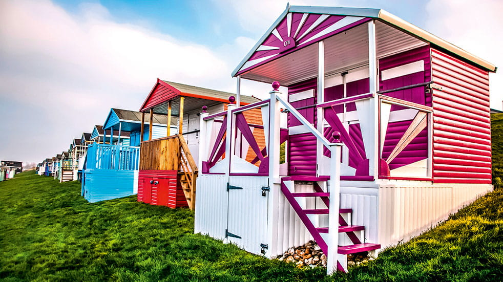 48 hours in Whitstable beach huts