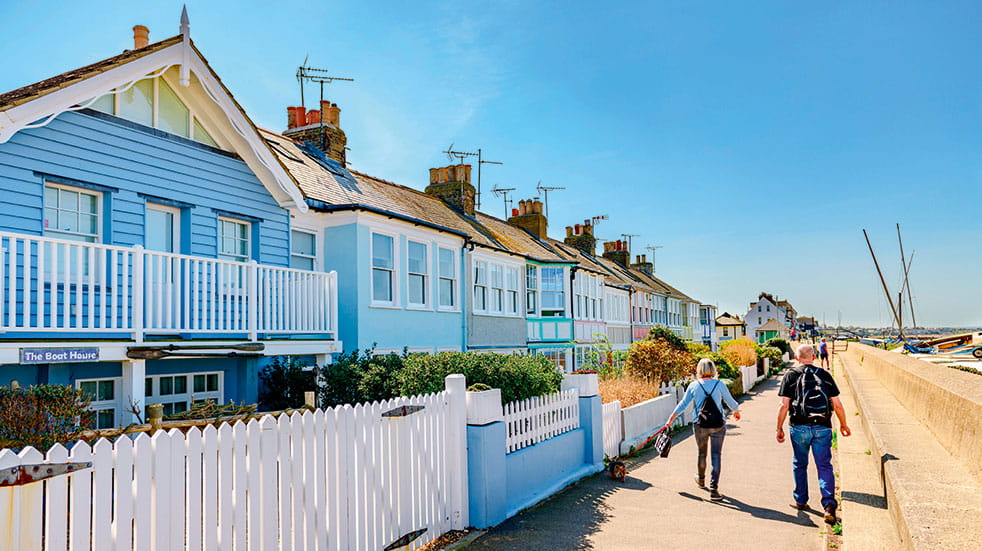48 hours in Whitstable seafront houses