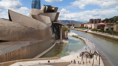Best off peak holiday destinations in Spain: Guggenheim Museum Bilbao, Spain