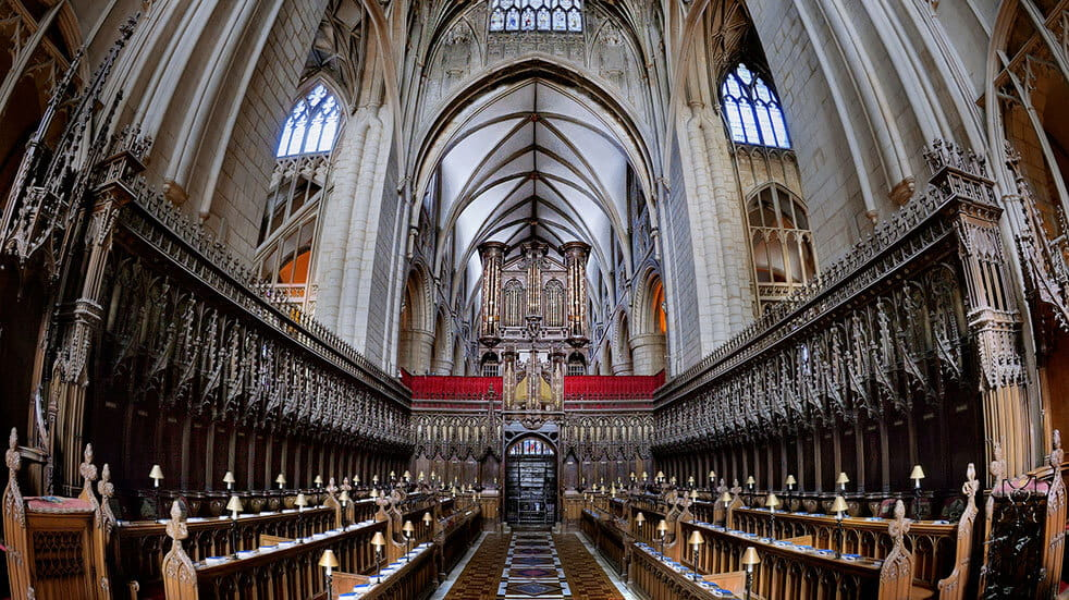 Free things to do: inside Gloucester cathedral
