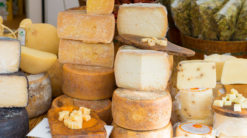 You'll find cheese galore at the Frome Food Festival