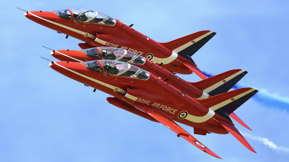 Where to see the red arrows Eastbourne Airbourne