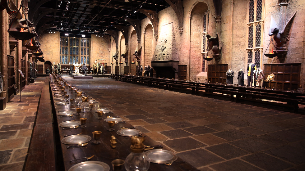 Harry Potter Studio Tour The Great Hall