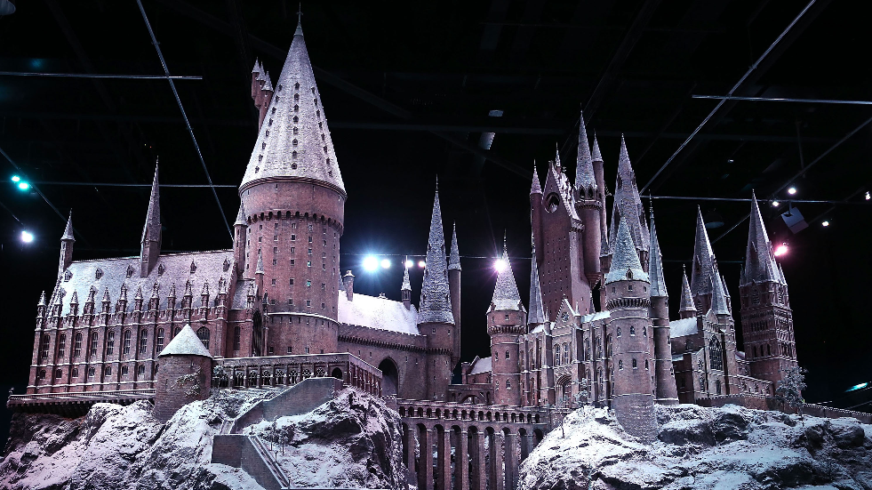 Harry Potter Studio Tour Model of Hogwarts