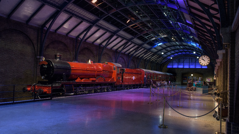 Harry potter Studio Tour Hogwarts Express