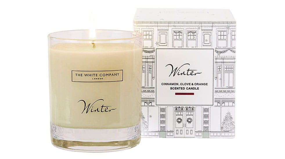 Christmas gift ideas White Company candle
