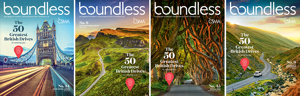 50 greatest UK road trips: Boundless magazine
