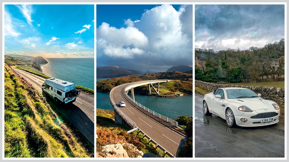 The 50 greatest UK drives: North York Moors, Scotland's North Coast 500, and Exmoor Valley of Rocks and Porlock